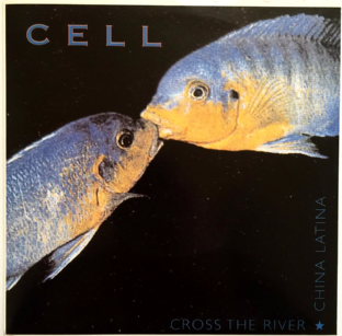 "Cell - Cross The River (7"") (Pale Blue Vinyl) EX+/EX-)"